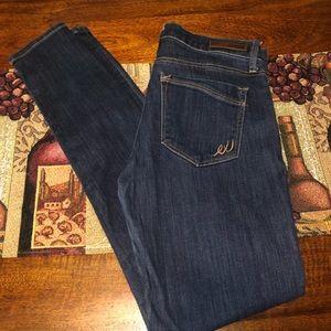 Express darkwash skinny jean size 6R